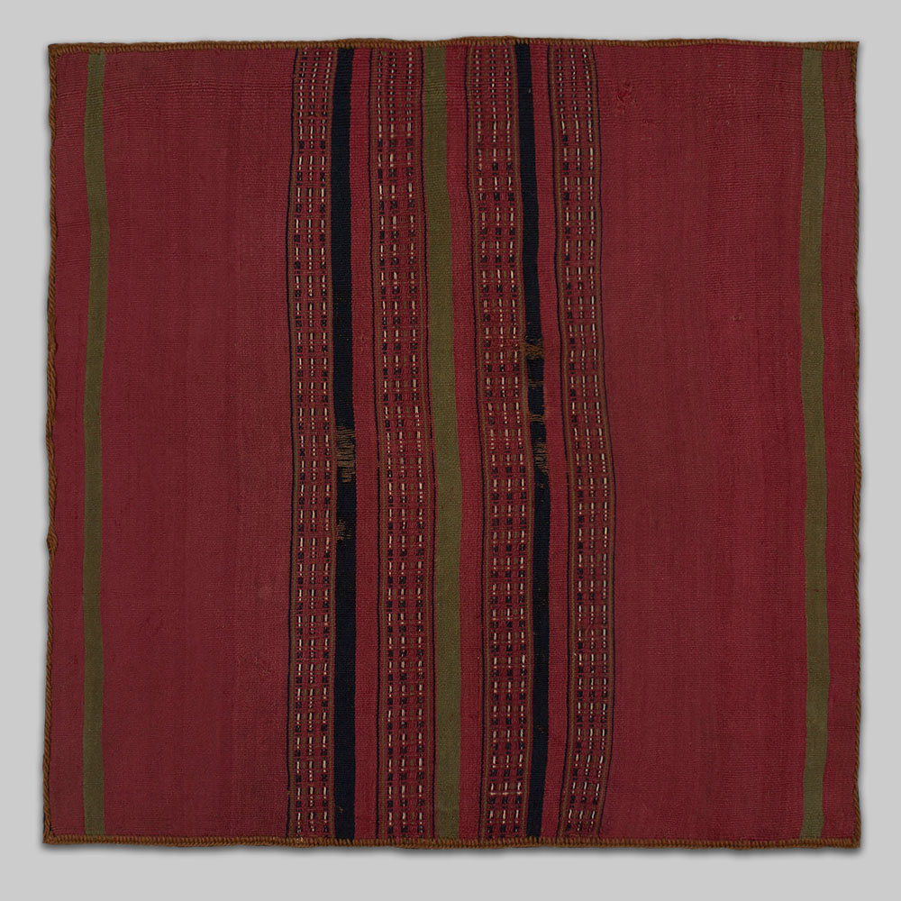 Inca Coca Ceremonial Cloth (Unkuna)